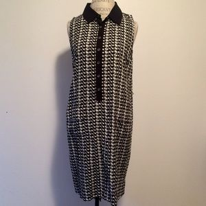 Two by Vince Camuto Elephant Print Shirt Dress-M